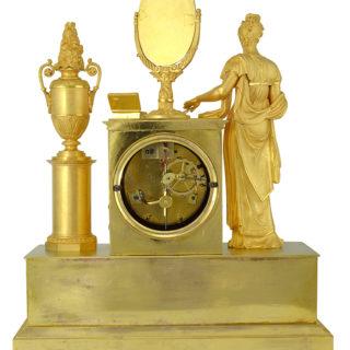 Pendule d 39 poque empire le miroir bris d 39 aphrodite 1800 for Le miroir brise