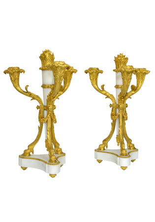 Pair of candlesticks (6)