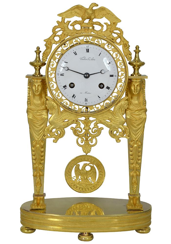 Clock Empire return from Egypt (1)