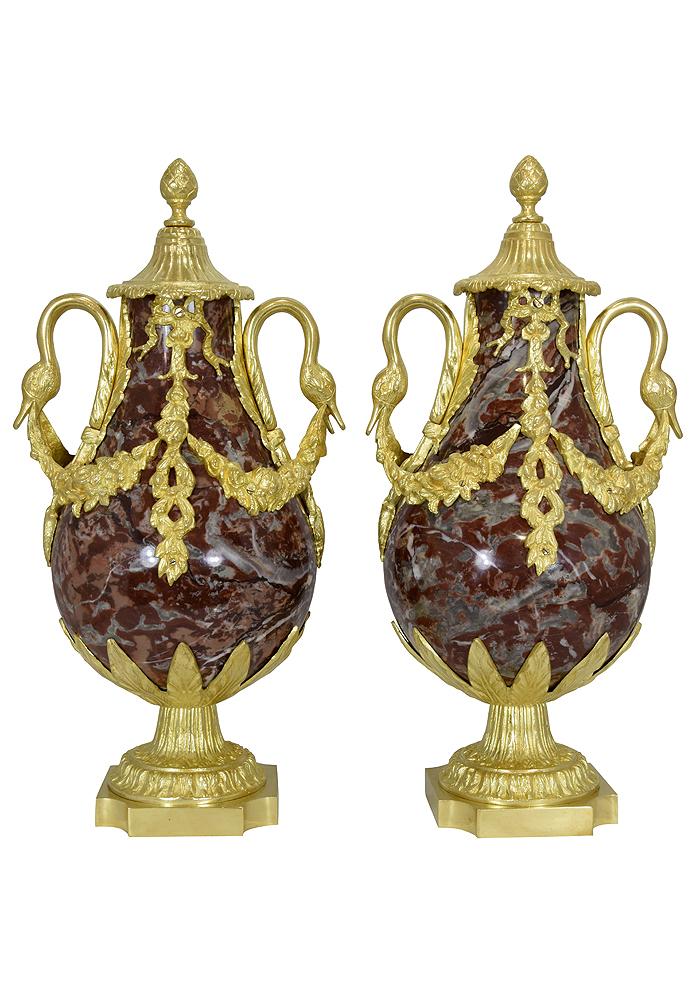 paire de vase marbre (5)