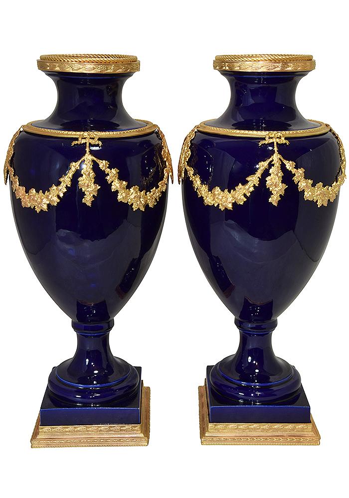 paire vase sevres (3)