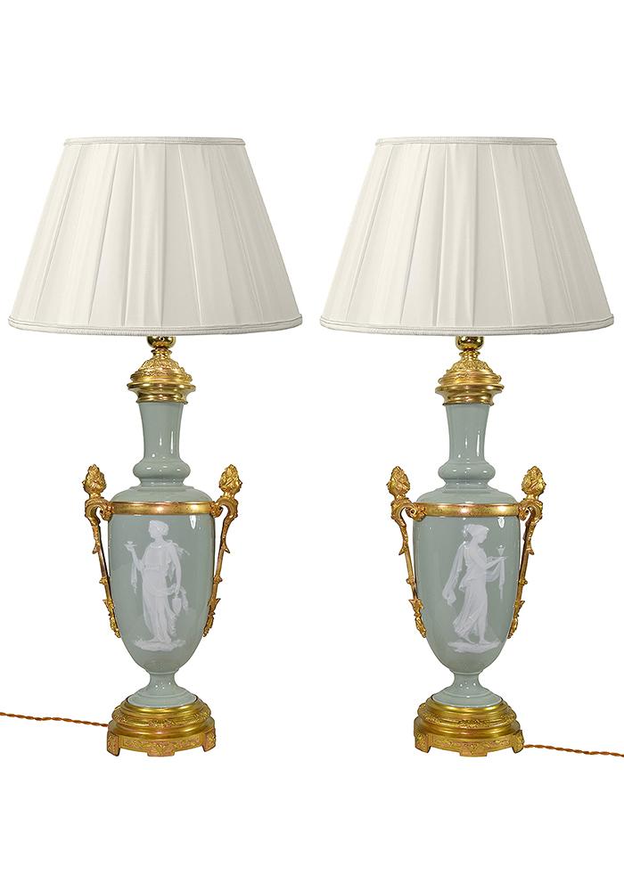 lampe celadon porcelaine (2)