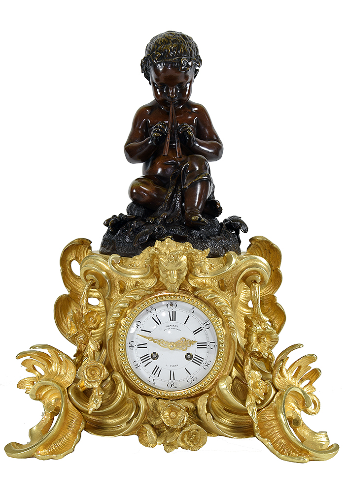 deniere henri picard pendule bronze (1)