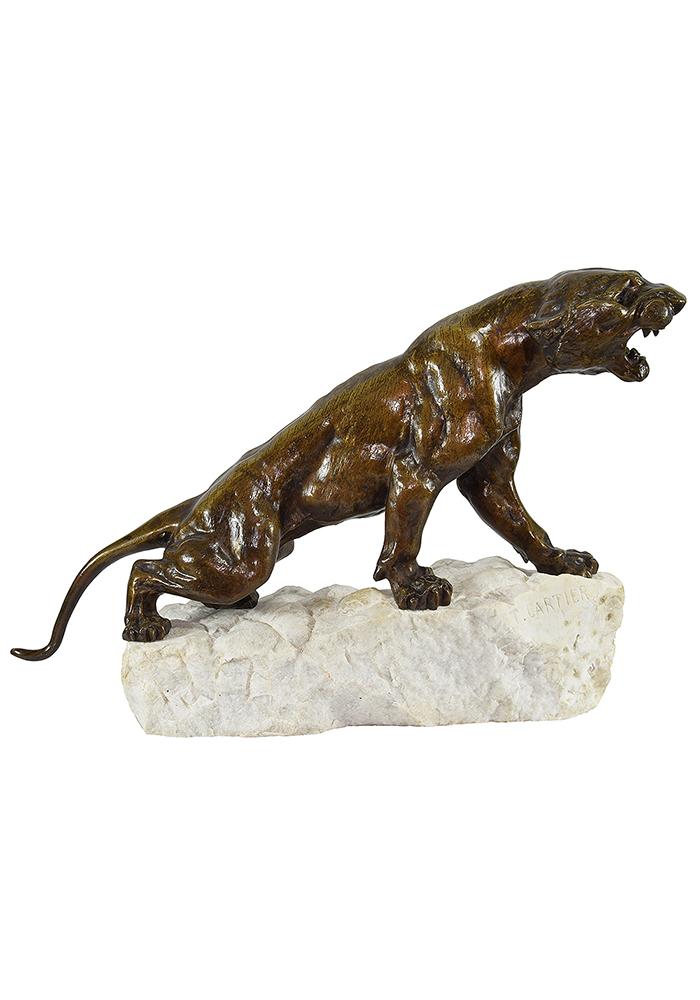 felin cartier bronze (1)