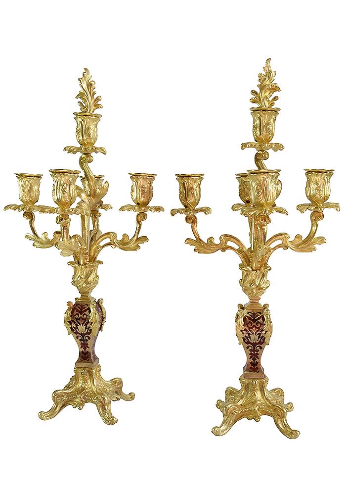 chandelier bronze ecaille (4)