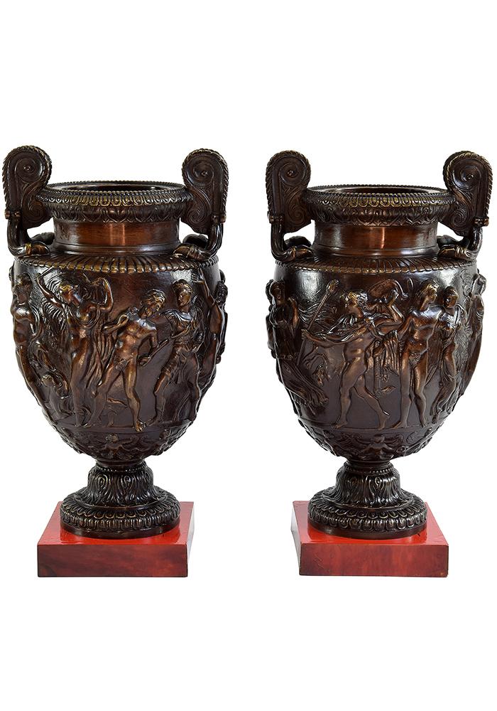 paire amphore bronze (1)